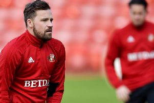 Chris Maguire started on the bench against Accrington Stanley.