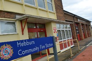 Hebburn Fire Station.