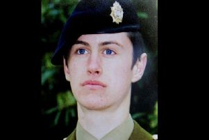 Geoff Gray, who was on duty at the Deepcut Barracks when he was found dead.