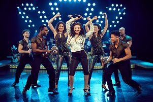 A scene from On Your Feet