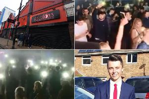 Clubbers at venue Illusions in Sunderland paid tribute to tragic teenager Connor Brown.