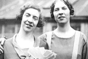 War heroes Ida and Louise Cook
