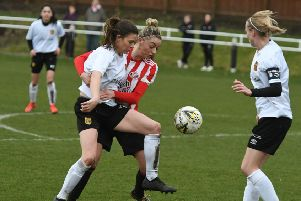 Keira Ramshaw netted twice for Sunderland