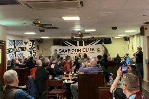 Gateshead fans held a meeting on Thursday night.