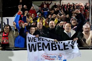 Sunderland AFC supporters are looking forward to their Wembley trip.