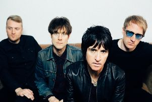 Johnny Marr and band