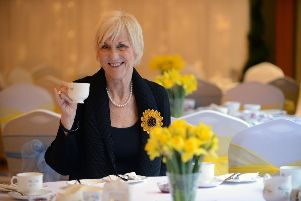 Original Calender Girl Tricia Stewart hosts a Gin and Jam afternoon in aid of St Benedicts Hospice