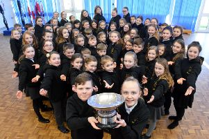 East Herrington Primary Academy choir are the winners of the Sunderland City Sings competition.