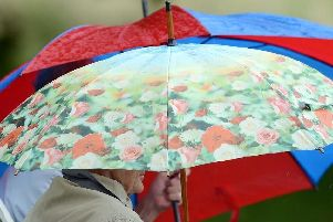 Early rain is set to clear later today
