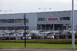The Nissan plant
