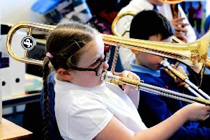 Alice Daly was so inspired by the event that she is now asking to attend Sunderland Youth & Community Orchestra.