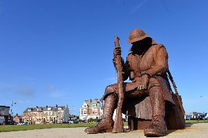 The Terrace Green in Seaham and its Tommy statue will host one of the displays.