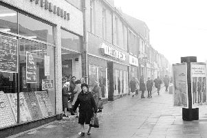 Shopping on Church Street in 1974.