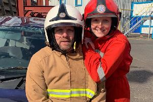 Tyne and Wear Fire and Rescue Service siblings, Sam Nicholson and Ed Copper.