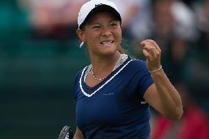 Britain's Tara Moore is through to the semi-finals of the ITF World Tour event in Sunderland.