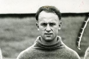Ivor Broadis in his playing days