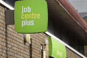 The Sunderland out-of-work claimant count has risen sharply in the last year