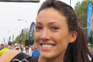 Former Love Island star Sophie Gradon, who was found hanged after consuming alcohol and cocaine.