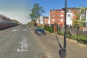 The incident took place on Fordfield Road in Sunderland.'Image by Google Maps.