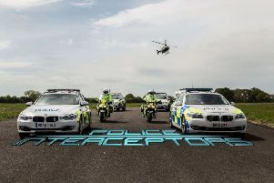 Officers from Cleveland and Durham forces took part in the TV show Police Interceptors.