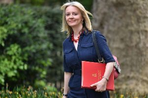 Chief Secretary to the Treasury Liz Truss is visiting the North East. Photo by PA.