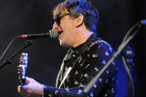 Ian Broudie, of the Lightning Seeds, performing at Sunniside Live in Sunderland last year.
