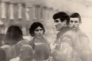 Robert Nairac on duty in Ulster during the 1970s.