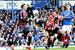 Jon McLaughlin made some key stops as Sunderland secured the clean sheet they needed to head to Wembley