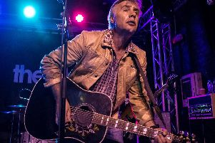 Former Sex Pistols bassist Glen Matlock performing at The Cluny in Newcastle. Pic: Mick Burgess.