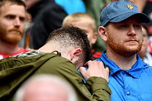 Sunderland fans were devastated after their play-off defeat to Charlton.