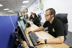 North East Ambulance Service call handlers.