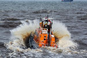 Whitby lifeboat. Picture by Ceri Oakes.