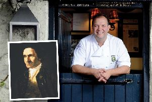 Whitby chef Andrew Pern will be one of the chefs taking part. Inset, Captain Cook.