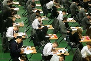 The GCSE results have been released today.