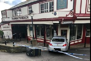 Car crashes into Scarborough's historic cliff tramway station