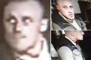 Police in Scarborough want to trace the man pictured in these CCTV images.