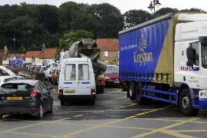Norton and Malton traffic jams. Picture by Andrew Higgins   sn123242b    10/08/12
