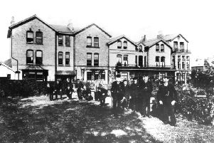 Picture shows the Cottage Hospital, Spring Bank, Falsgrave which was founded by Mrs Anne Wright, a local philanthropic lady and was built in 1870. The initial accommodation was for 25 beds but in 1878 a new wing was added, which provided space for a further 25 beds. In 1885 the hospital was converted into a convalescent home.When the hospital finally closed the money from the sale was used to open the Anne Wright Ward at the newly built Scarborough Hospital in Scalby Road.'Photo reproduced courtesy of the Max Payne collection. 'Reprints can be ordered with proceeds going to local charities. Telephone 0330 1230203 and quote reference number