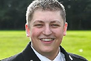 PC Liam Cromack of North Yorkshire Police