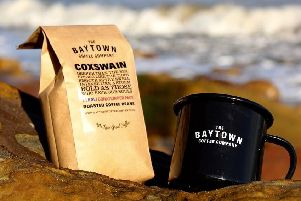 Baytown Coffee Company's new Coxswain coffee, which will help raise money for the RNLI.