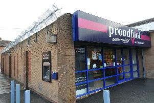 A taxi driver has been assaulted in the car park of Proudfoots in Eastfield high street.