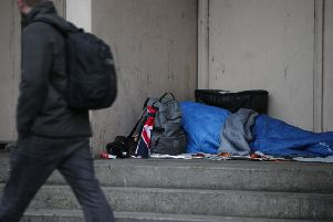 There are eight people sleeping rough on the streets of Scarborough, official figures show.