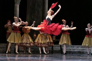 Russian State Ballet will perform Don Quixote at Scarborough Spa later this year