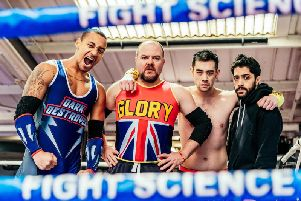 Glory - set in the world of UK wrestling - comes to the Stephen Joseph Theatre in March