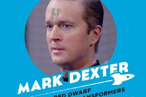 Mark Dexter, who played Howard Rimmer, in Red Dwarf will be at Sci-fi Scarborough in April