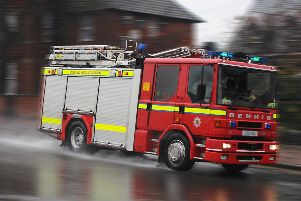 Humberside Fire and Rescue were called in the early hours.