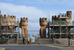 A scene at Withernsea on the Yorkshire coast. Picture: Jonathan Gawthorpe