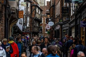 A scene from York city centre. Pic: James Hardisty