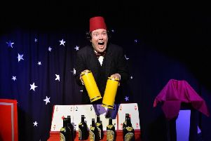 John Hewer as Tommy Cooper in Just Like That