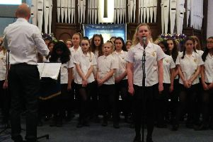 The St Augustine's Easter Concert took place at Westborough Methodist Church.